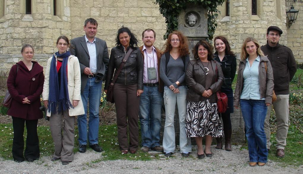 "Účastníci kolokvia ""Bohemian-Bajuvarian Forum, Regensburg"""
