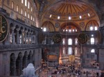 Interiér Hagia Sofia