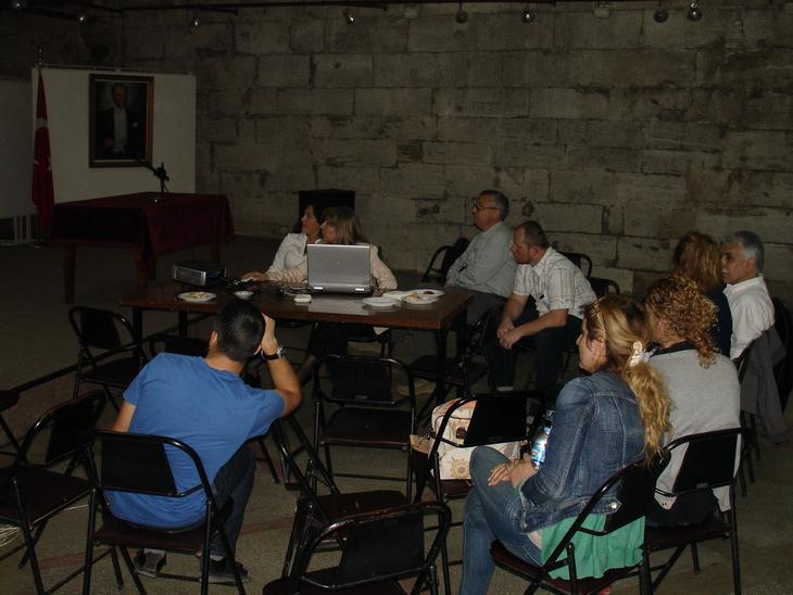 Workshop k nálezům dutého a tabulového skla, Istanbul University