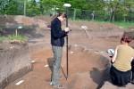 Vlasta zaměřuje pomocí geodetické GPS